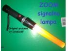 Signalna ZOOM lampa + Baterije