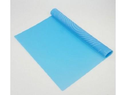 Silikonska Podloga za testo - Plava