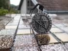 Simbol pentagram rune,runsko pismo ogrlica