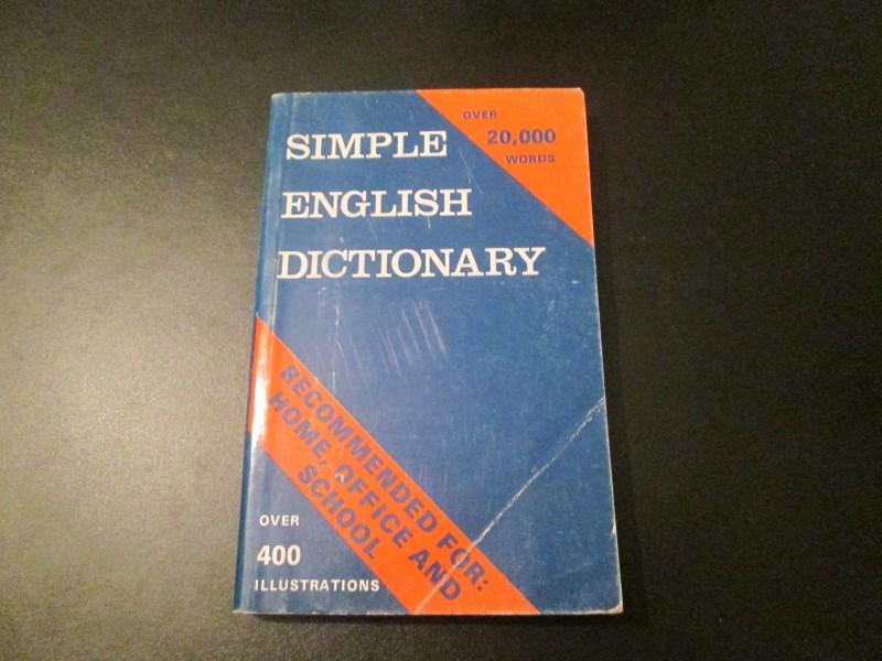 Simple Englis Dictionary -recnik