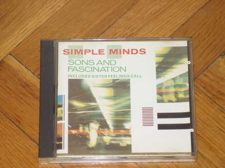 Simple Minds - Sons And Fascination / Sister Feelings Call