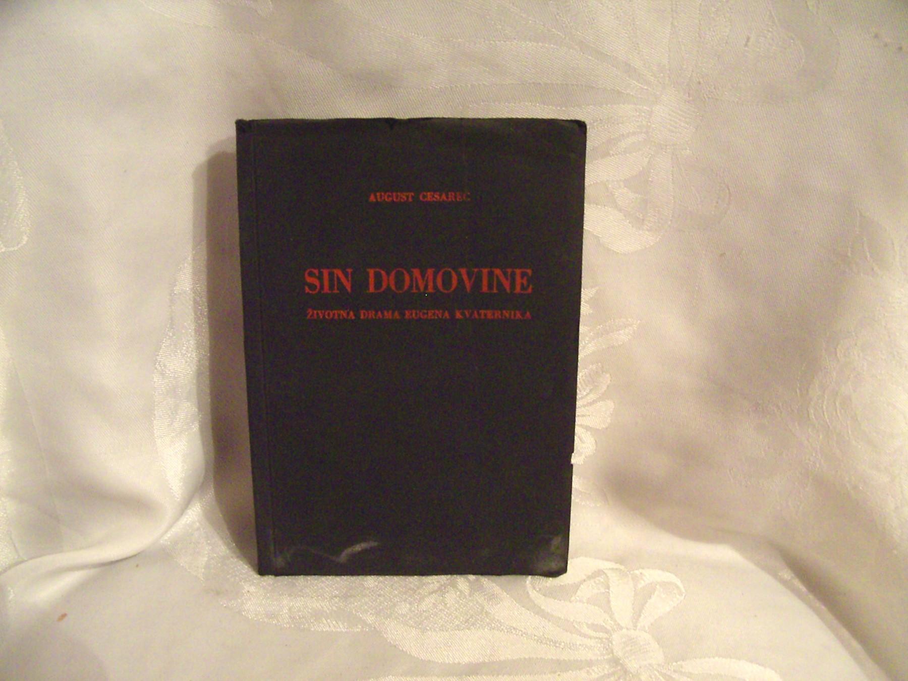 Sin Domovine August Cesarec Kupindo Com 17386481