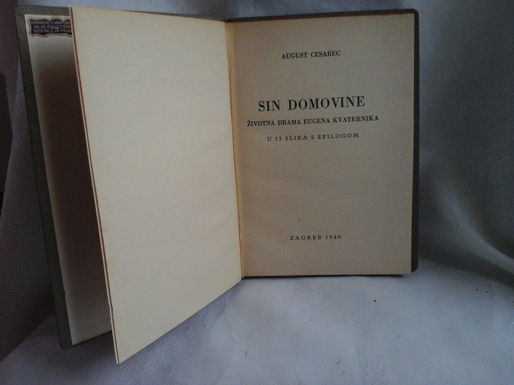 Sin Domovine August Cesarec Kupindo Com 51390593