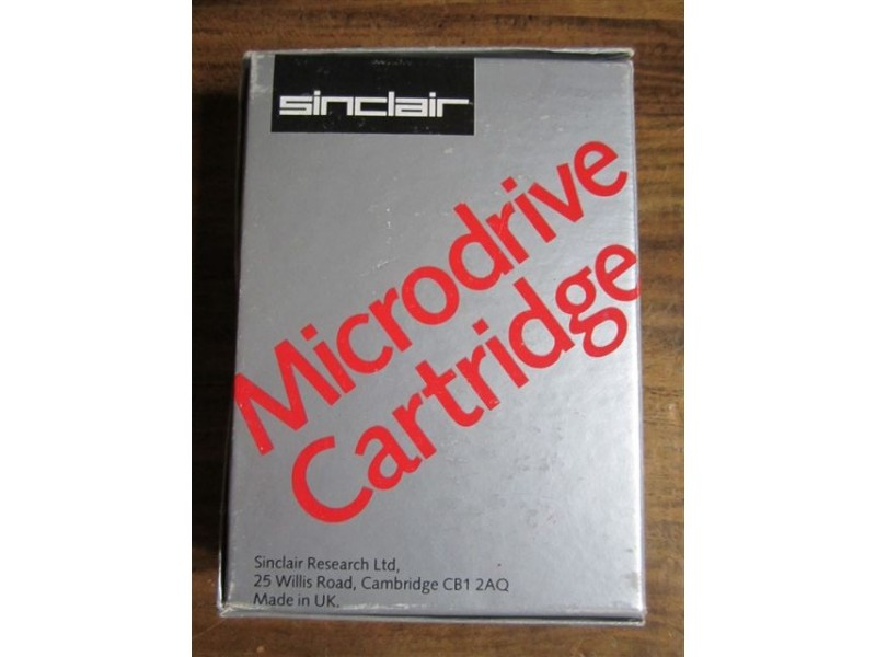 Sinclair MicroDrive Cartridges