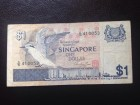 Singapur, Singapore, 1 dolar, 1975/1976