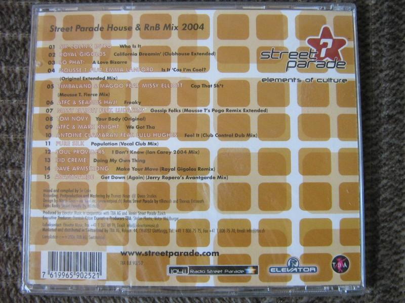 Sir Colin - Street Parade 2004 - House & RnB Mix