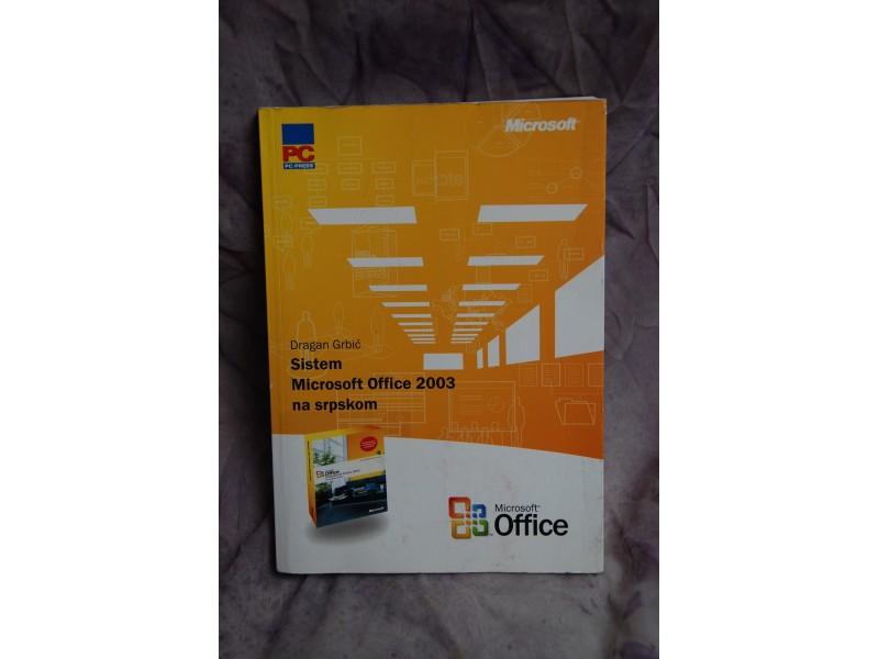 Sistem Microsoft Office 2003 na srpskom