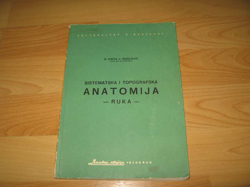 Sistemska i topografska anatomija - RUKA -