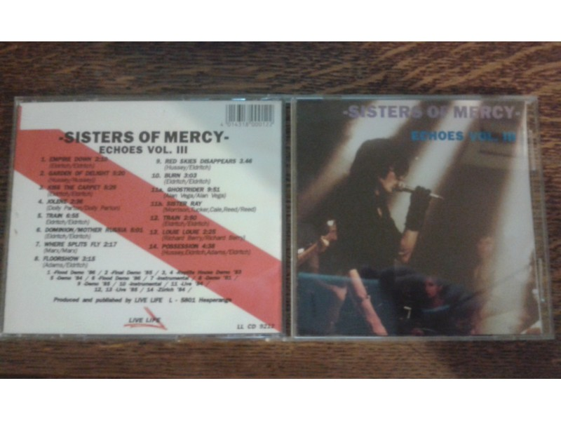 Sisters Of Mercy, The - Echoes Vol. III