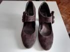 Sive cipele, antilop koža