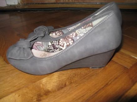 Sive cipele vel.37 kao nove