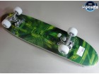 Skejtbord Action Skateboard Green SPORTLINE