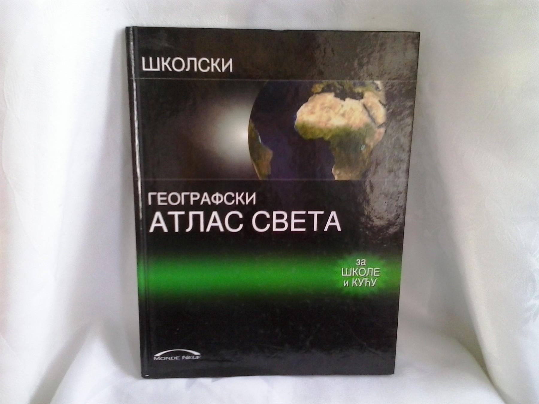 geografski atlas sveta