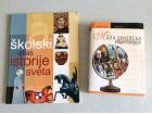 Školski atlas istorije sveta i Mala školska encikloped.