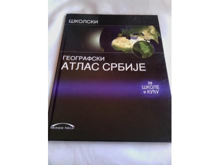 Školski geografski atlas Srbije novo