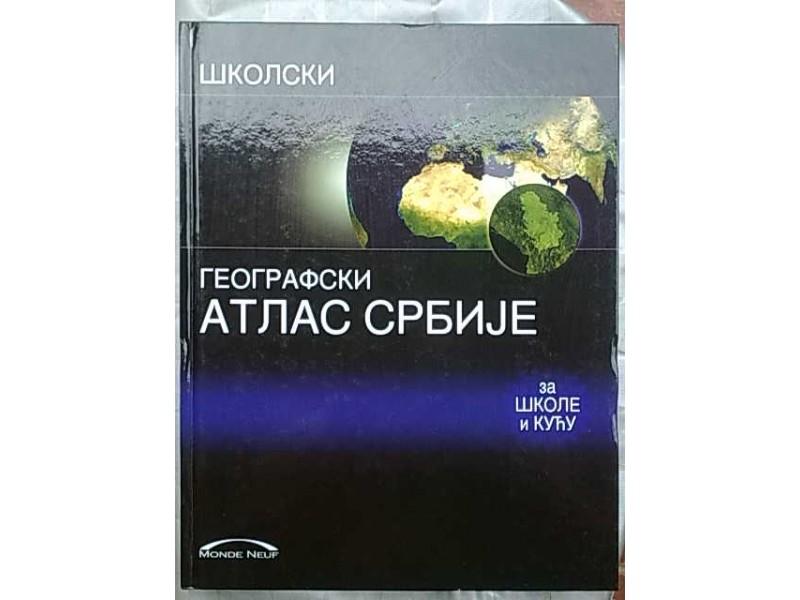 Skolski geografski atlas Srbije