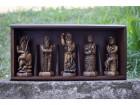 Skulpture: BOGOVI SLOVENA komplet