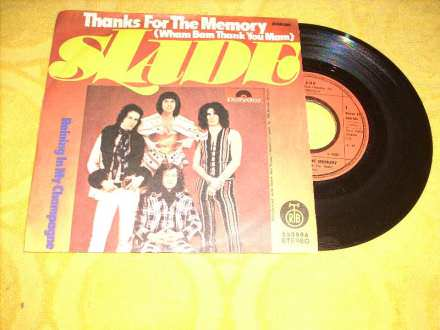 Slade - Thanks For The Memory (Wham Bam Thank You Mam)