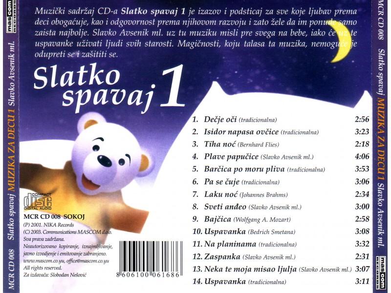 Slavko Avsenik Und Seine Original Oberkrainer - Slatko Spavaj Muzika Za Decu Vol 1