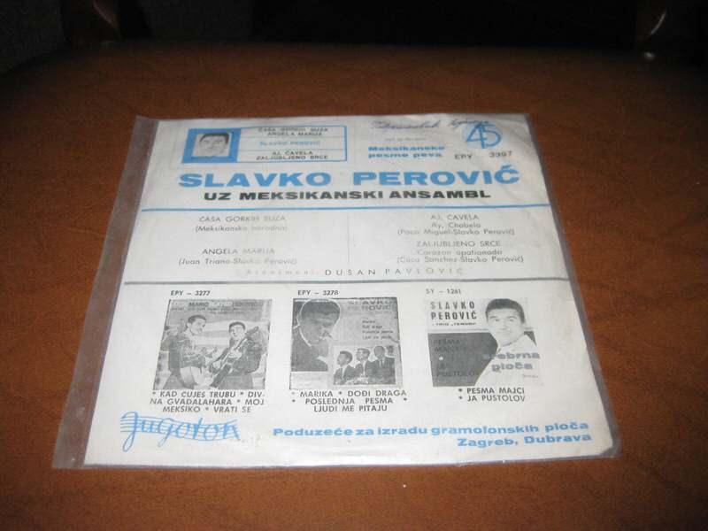 Slavko Perović - Čaša Gorkih Suza
