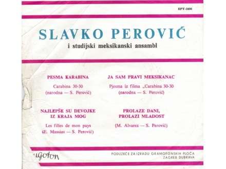 Slavko Perović - Pesma Karabina
