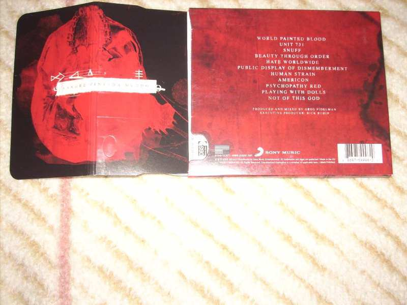 Slayer - World Painted Blood CD