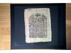 Slika na papirusu