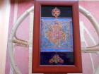 Slika na staklu,Ornament Stara Srbija