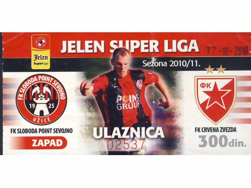 Sloboda - Crvena Zvezda   ,   2010.god.