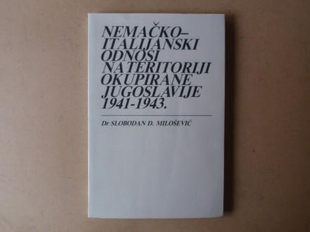 Slobodan D. Milošević - NEMAČKO-ITALIJANSKI ODNOSI