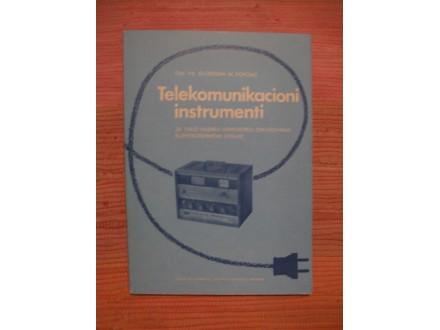 Slobodan Popovic - Telekomunikacioni instrumenti