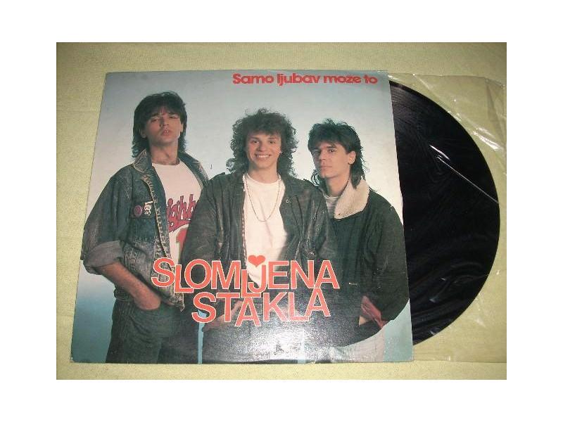 Slomljena Stakla-Samo ljubav moze to LP