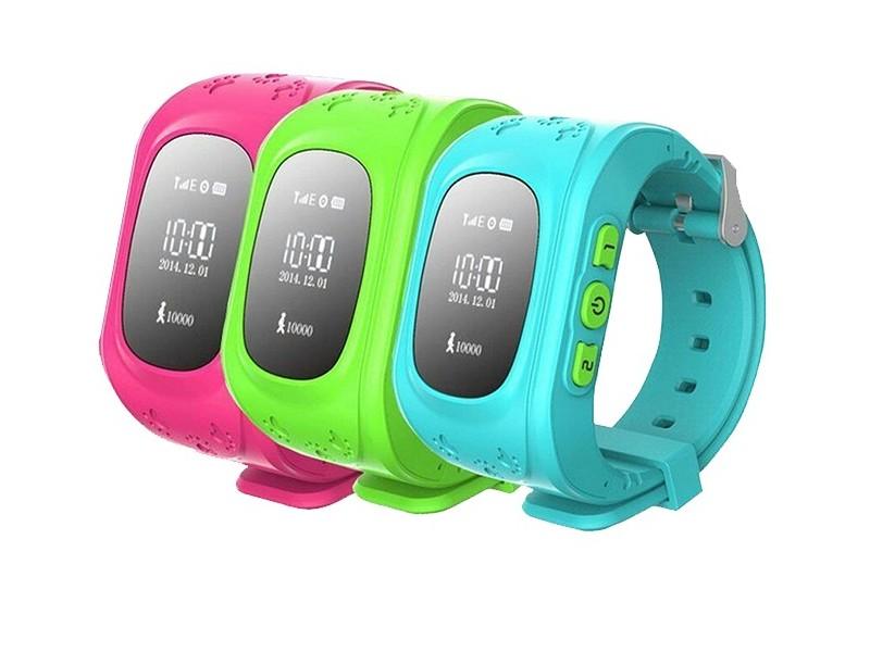 Smart Watch sa GPS-om za pozicioniranje osobe