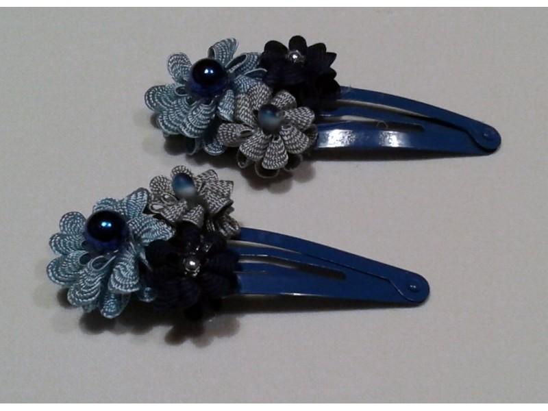 Šnale: Blue Lace (ručni rad - unikat)