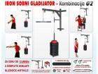 Sobni Gladijator + 65kg tegova + stolica