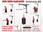 Sobni Gladijator + 95kg tegova