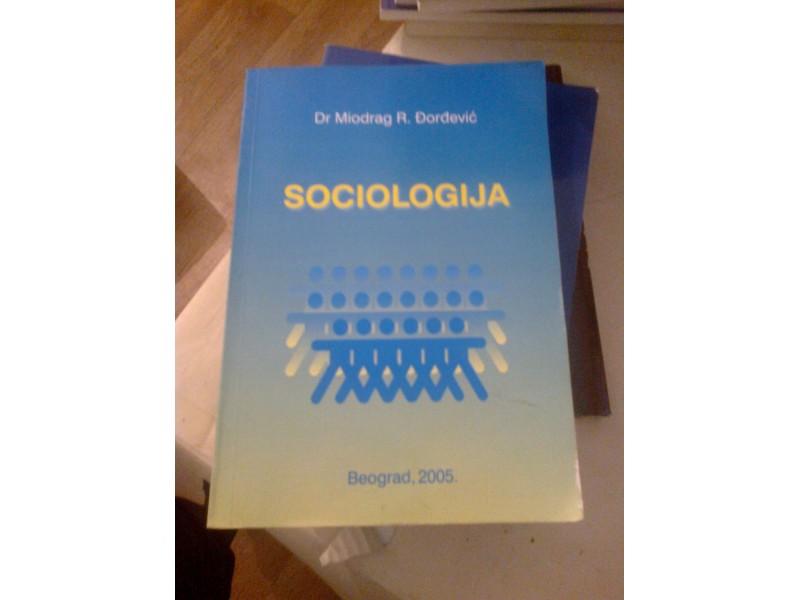 Sociologija - dr Miodrag R. Đorđević