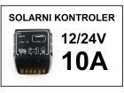 Solarni kontroler punjenja 10A - 12/24V
