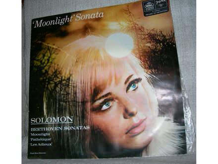 Solomon -  Beethoven Sonatas: Moonlight / Pathétique / Les Adieux