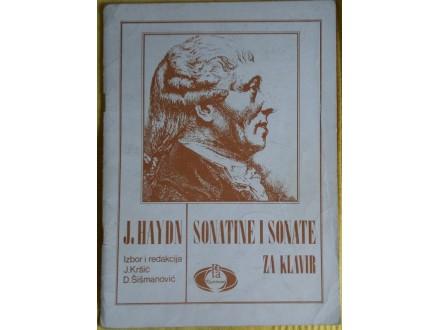 Sonatine i sonate za klavir  Hajdn  Izbor Kršić