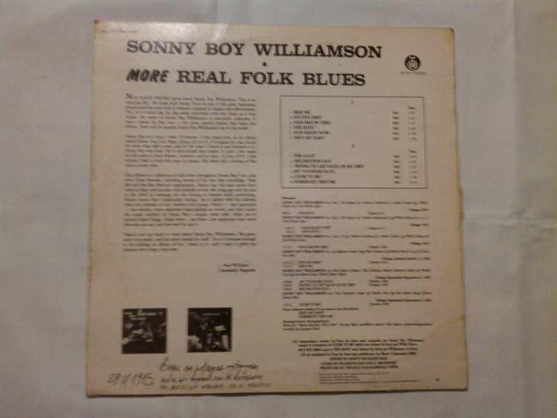 Sonny Boy Williamson (2) - More Real Folk Blues