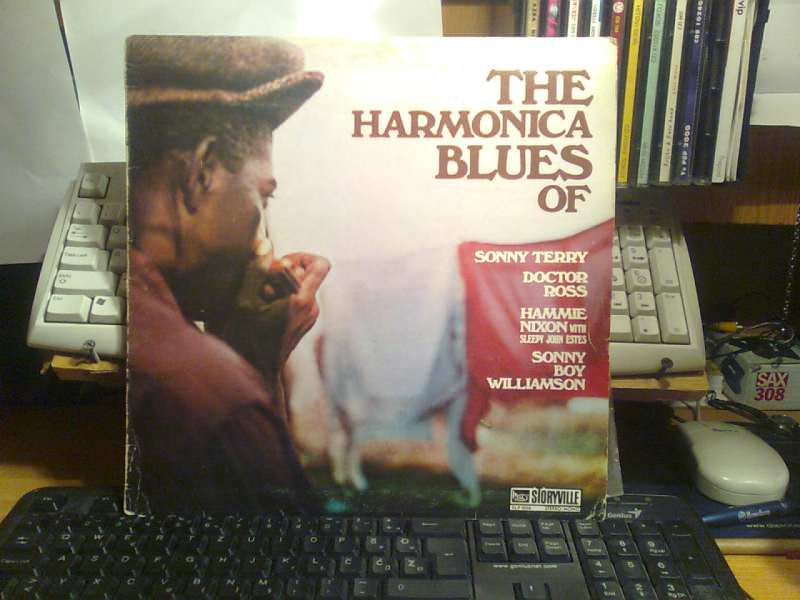 Sonny Terry, Doctor Ross, Hammie Nixon, Sleepy John Estes, Sonny Boy Williamson (2) - The Harmonica Blues