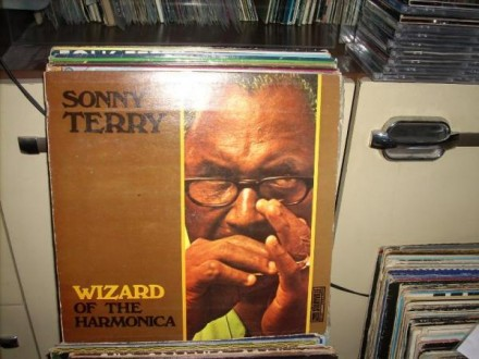 Sonny Terry-Wizard of the harmonica LP