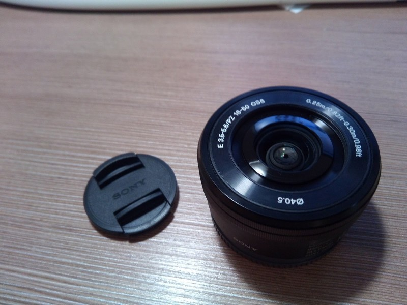 Sony 16-50mm E-mount objektiv SELp1650 NEX