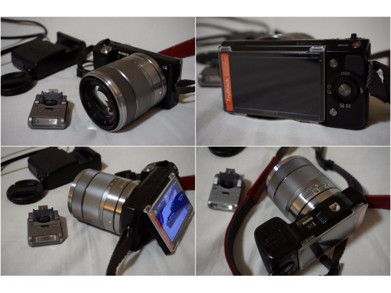 Sony NEX 5  mirrorless aparat