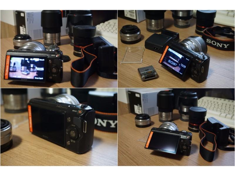 Sony NEX 5  mirrorless aparat