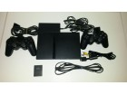 Sony PlayStatio2-softmodovana kartica+oprema+10 igrica