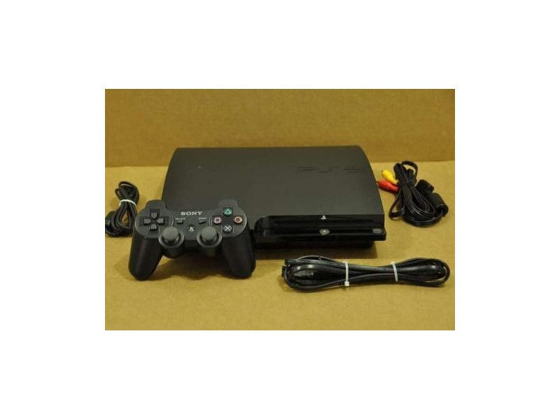 Sony Playstation 3 SLIM 300GB CHECH2004B 9D