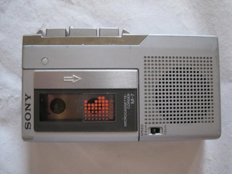 Sony diktafon M - 7