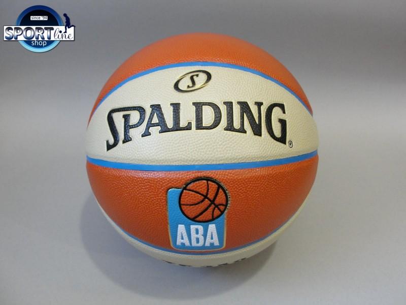 Spalding ABA liga kožna lopta za košarku SPORTLINE